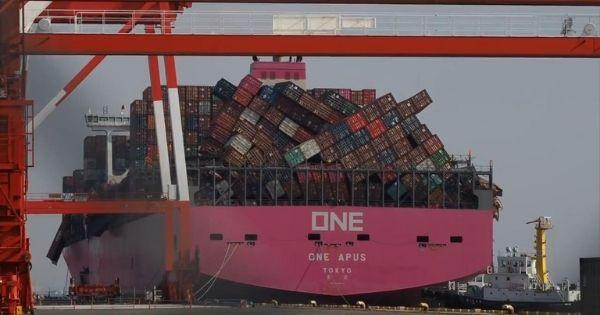 ONE Line thiết lập trang web hỗ trợ thông tin cho các chủ hàng trên tàu ONE APUS