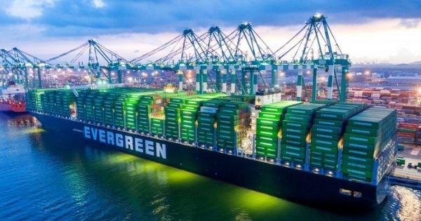 Evergreen tăng trưởng lợi nhuận trở lại trong Qúy 1