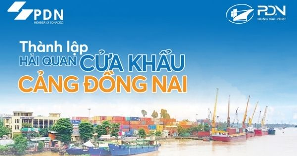 Establishment of Dong Nai Port Customs Branch - Reducing logistics costs, increasing competitiveness for businesses